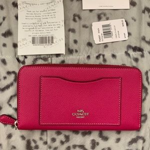 Coach Zip Wallet